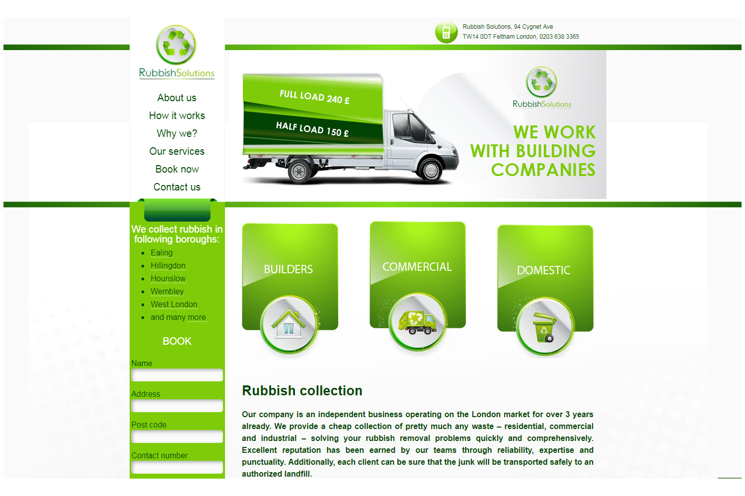 Rubish Solutions - Website